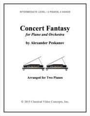 Concert Fantasy (Arranged for 2 Pianos)