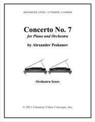 Piano Concerto No. 7 (Orch. Score & Parts)