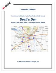 Devil's Den (1 Piano, 6 Hands) e-Print