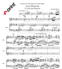 Azery Rhapsody - II. Leyli and Majnun (e-Print)