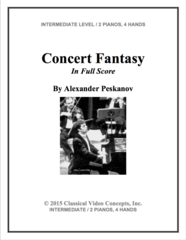 Concert Fantasy (Orch. Score & Parts)