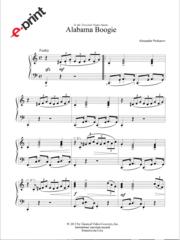 Alabama Boogie (e-Print)