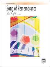 Song of Remembrance: Intermediate Piano Trio (1 Piano, 6 Hands)