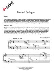 Musical Dialogue (e-Print)