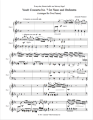 Piano Concerto No. 7 (Arranged for 2 Pianos) e-Print