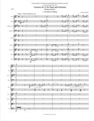 Spring Concerto (Orch. Score & Parts) e-Print