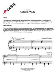 Autumn Waltz (e-Print)