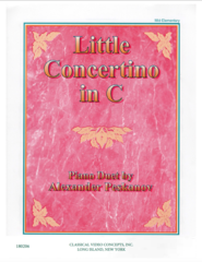 Little Concertino in C (4 Hands)