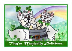 Greeting Card - Sure I'm Irish. Today, anyway.