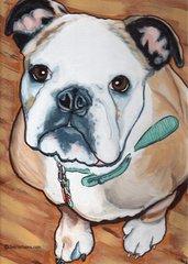 "5""x 7"" Custom Pet Portrait."