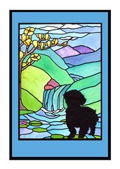 Sympathy Card Dog