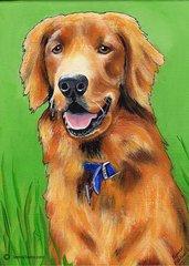 "12"" x 16"" Custom Pet Portrait."