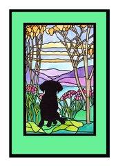 Sympathy Card Dog.