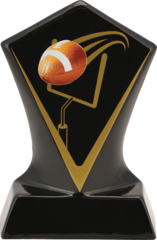 Budget Black Diamond Ceramic Trophy Award