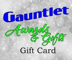 Gauntlet Awards Gift Card