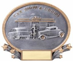 Car Show Resin Plate Trophy