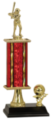"14"" Trophy with Pedestal and Side Trim"
