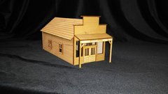 O Scale House Store Warehouse Kit Model Railroad Train Building On30 Scale