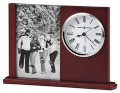 645-780 Portrait Caddy Clock and Photo Frame
