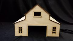 Model O Scale Factory Warehouse Building unfinished kit wood train railroad