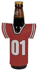 Photo Personalized Jersey Bottle Coozie Beverage Holder