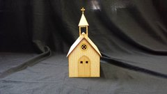 O Scale Church Store Kit Model Railroad Train Building On30 Scale