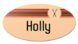 "3"" x 1.5"" Oval Name Badge"