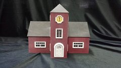 O Scale Court House Kit Model Railroad Train Building On30 Scale