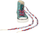 Custom imprinted shoe laces