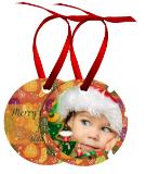 Aluminum Christmas Ornament