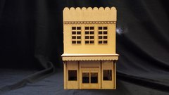 O Scale House Store Saloon Kit Model Railroad Train Building On30 Scale