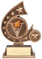 "5 3/4"" Comet Series Resin Trophy"