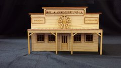 O Scale Blacksmith Shop Store Kit Model Railroad Train Building On30 Scale