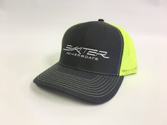 Charcoal and Neon Yellow Trucker Hat