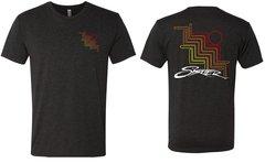 Vintage Black Skater Bug T-Shirt