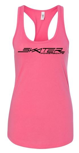 Pink Racerback New Logo Tank