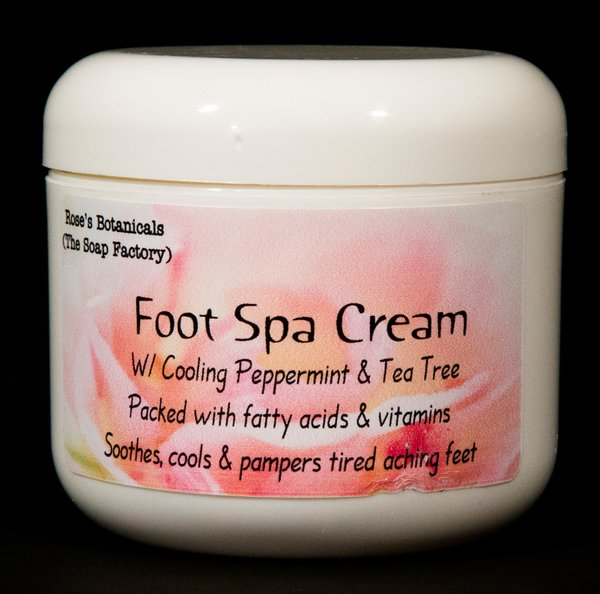 Foot spa cream