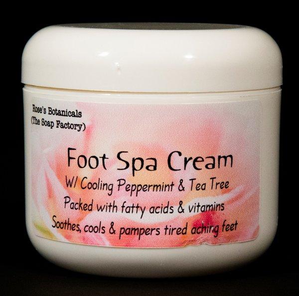Heavenly Foot Spa Cream Roses Botanicals