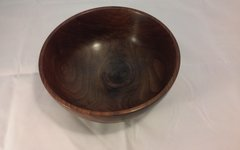 walnut crock rim bowl