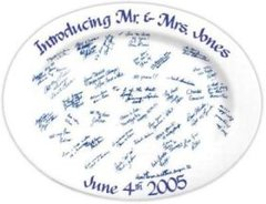 Wedding Platter Ready to Sign