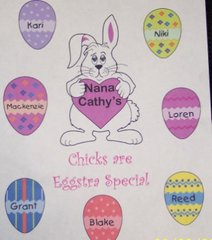 """Personalized Easter Sweatshirt-""""Eggstra"""" Special"""