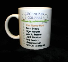 Legendary Golfer Mug-Imprinted