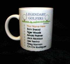Legendary Golfer Mug-Imprinted