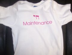 Chai Maintenance Onesie