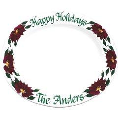 Poins-Poinsetta Holiday Platter