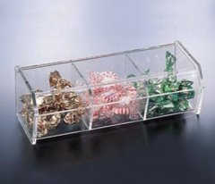 362-H.P. 3 Compartment Snack Container