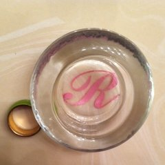 Monogram Ring Holder-Initial