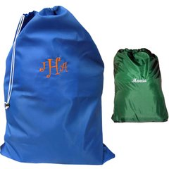 JUMBO NYLON LAUNDRY BAG -EMBROIDERED FREE !!