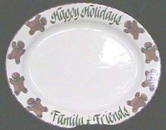 Gingerbread-Gingerbread Holiday Platter