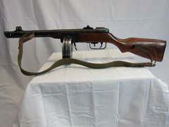 WWII Russian Soviet PPSH-41 Submachinegun Demilled Non-Firing - ORIGINAL RARE -